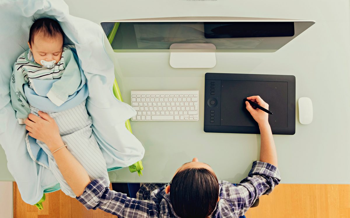 Imagem para Como 'sobreviver' ao trabalho remoto com crianças em casa